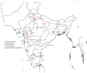 Industrial cities in india