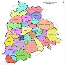 Telangana Districts Information