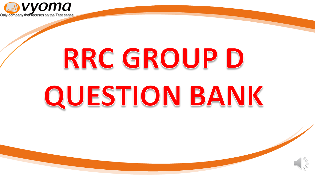 RRC Group D Question Bank