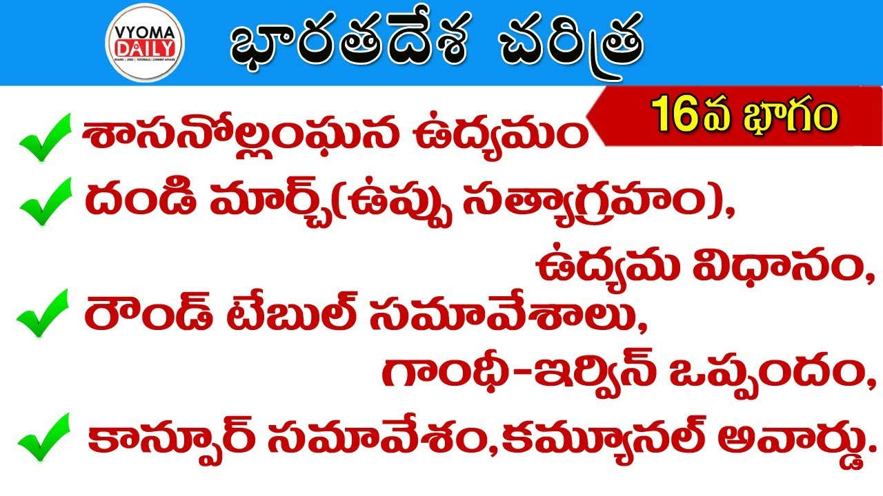 Indian history in telugu