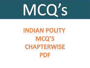 Indian Polity MCQ Free Download PDF